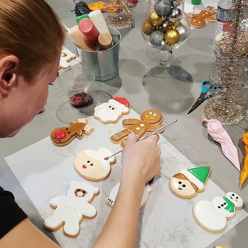 Christmas Cookie Decorating