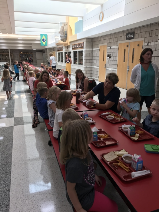 Preschool Lunch
