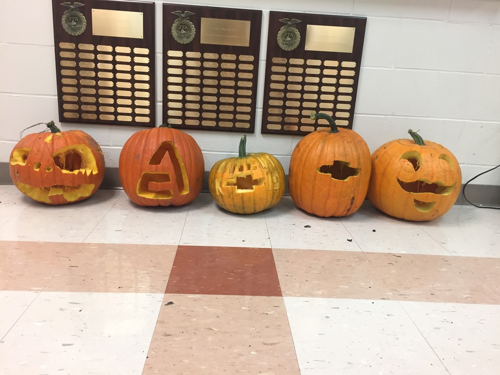 FFA Pumpkin Carving